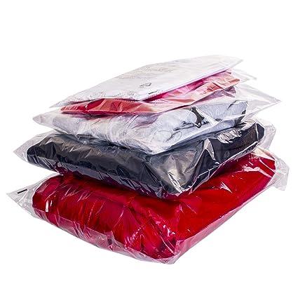 Strong Clear Cellophane Bags Display Garment Self Adhesive Peel Seal Plastic OPP