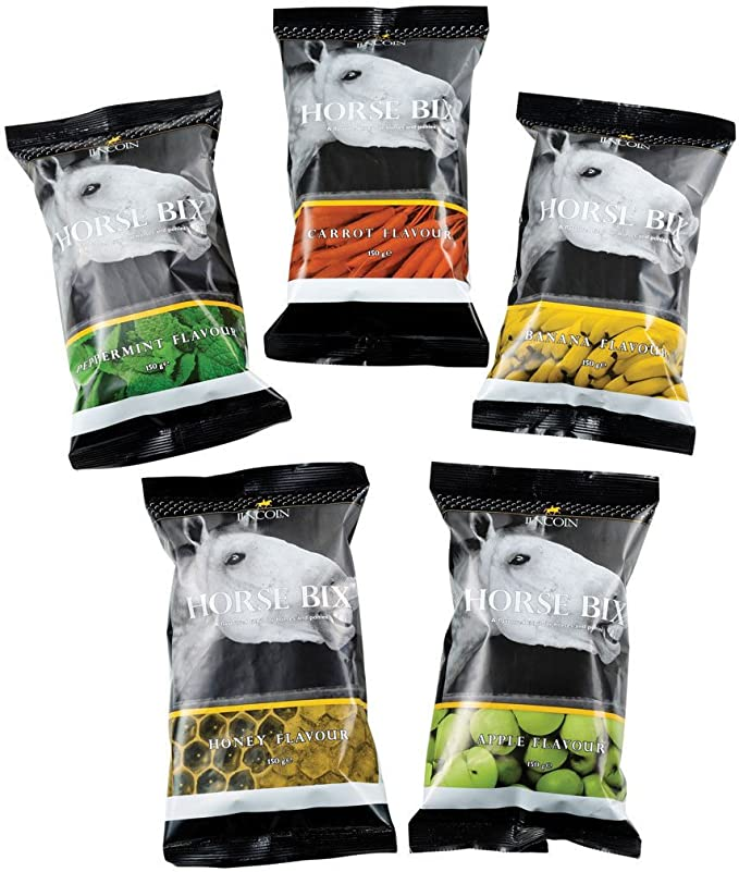 Lincoln Horse Bix Unisex Stable And Yard Treats Carrot All Sizes