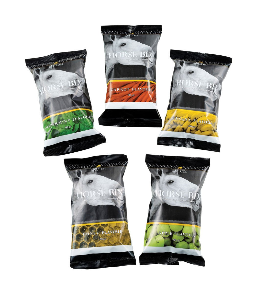 560-0489 Lincoln Horse Bix Assorted Flavours 150g + 1kg (Mint, 1kg) by LINCOLN