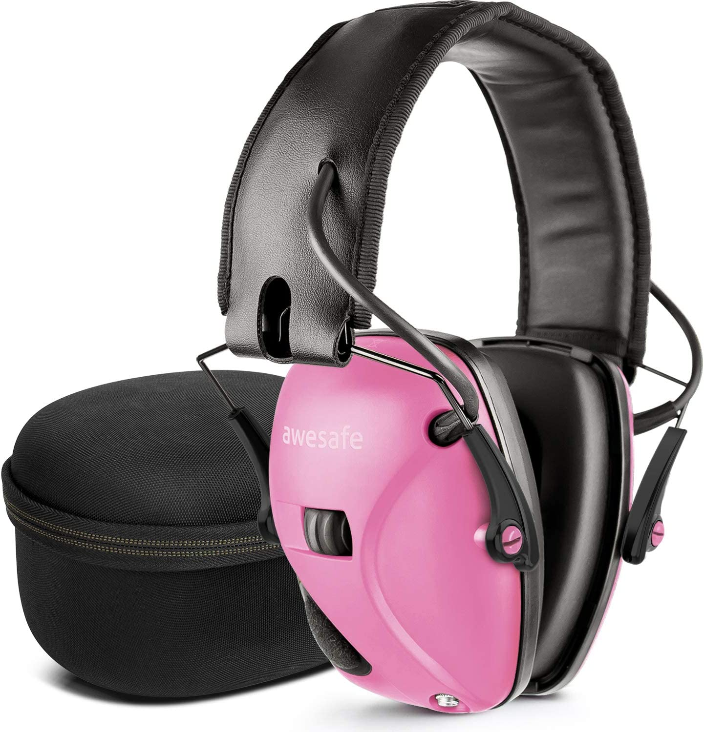 Safety Hearing Protection Earmuff Pink 22db NRR Firing Range Industrial Work