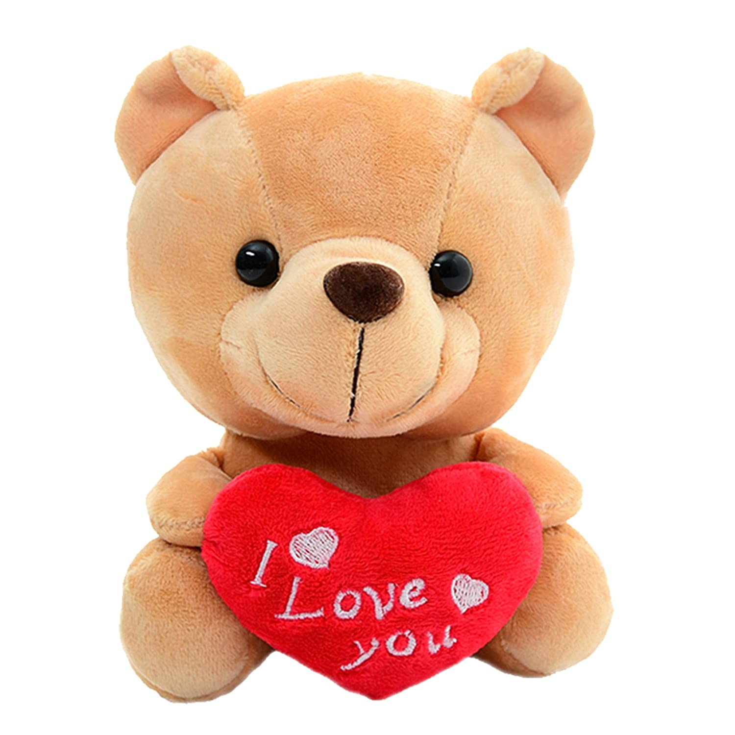 "Love Quotes With Teddy Bear Images: Love Plush Teddy Bear With Heart ""I Love You'' Valentines"