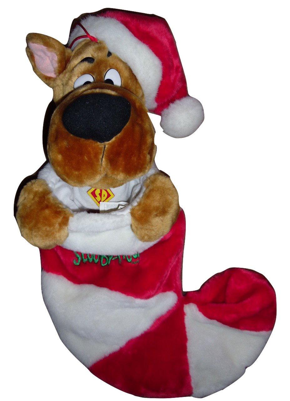 CARTOON NETWORK SCOOBY-DOO ANIMATED SINGING CHRISTMAS X-MAS STOCKING PLUSH