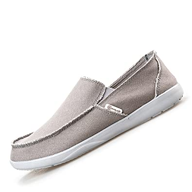 Robert Reyna Fashion Men Canvas Shoes Breathable Shoes Men Shoes Loafers Shoes Flats