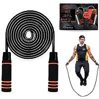 Phoenix Fitness Gewogen springtouw - 2 x 200 g Gewichten Jump Rope - Jumping Tangle-Free Rope - Gewogen touw voor…