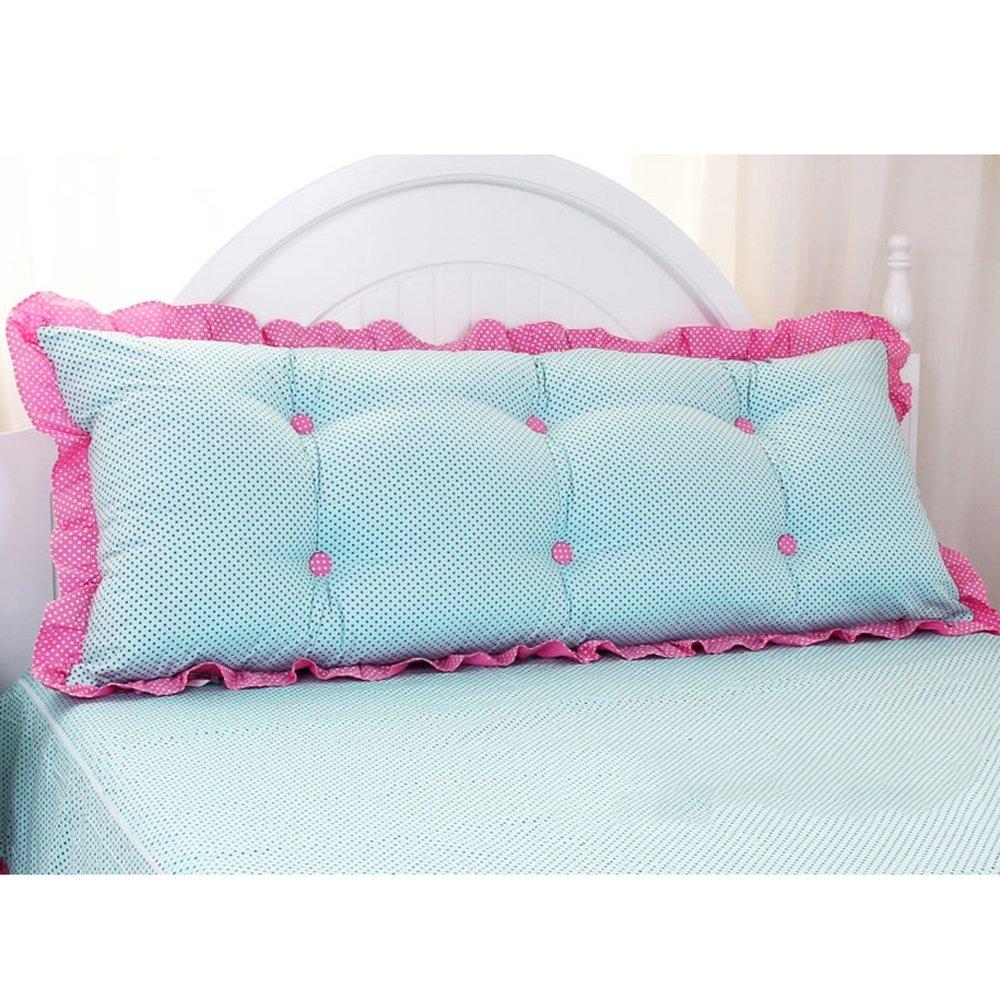 QQ ダブルベッドサイドバックピローウエストパッド、綿、リムーバブル、洗濯可能、サイズL120/150CM (色 : 2#, サイズ さいず : 150cm) B07FFWGL2T 2# 150cm