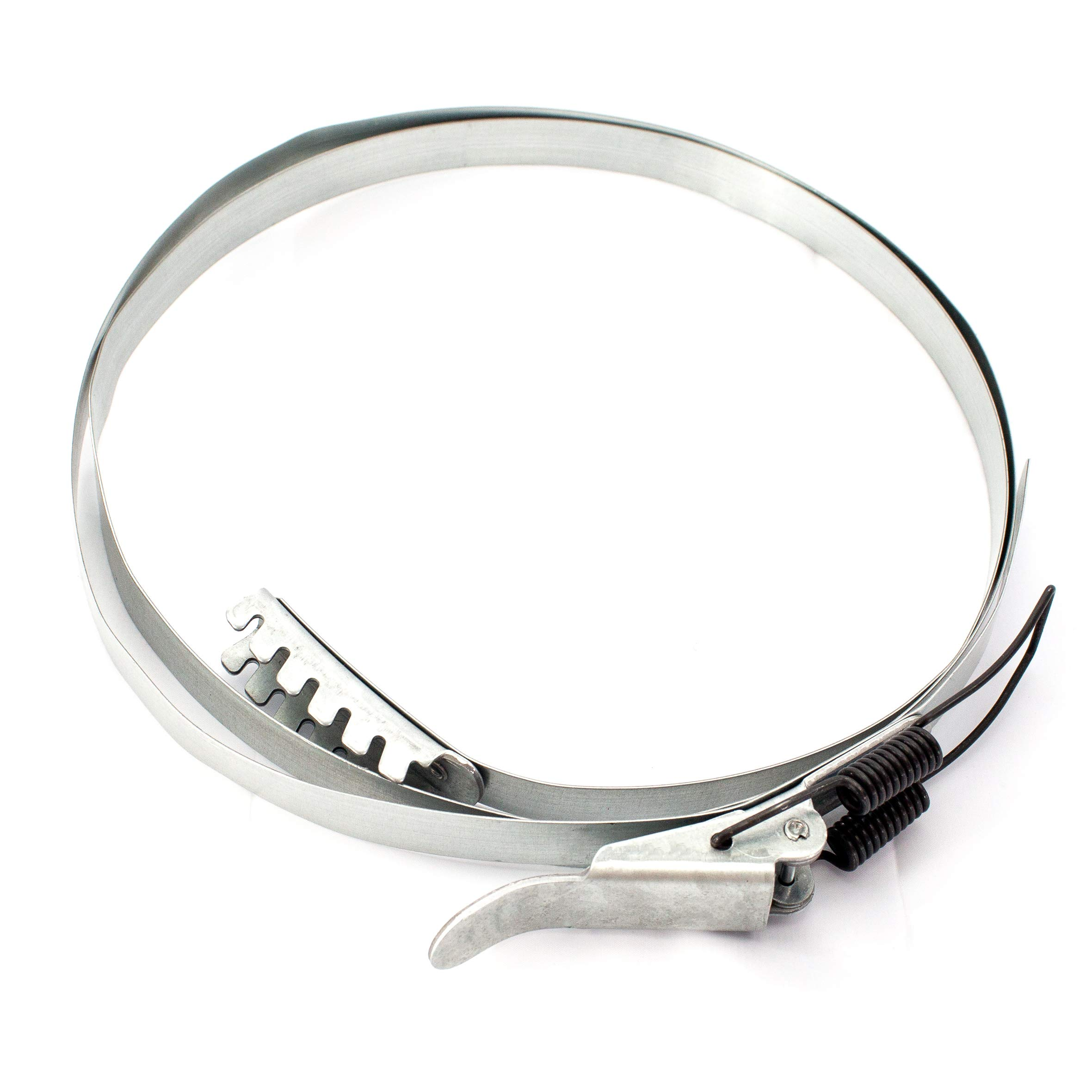POWERTEC 71228 Band Clamp for Dust Collector, 18-5/8'' (473mm) to 19''(483mm)