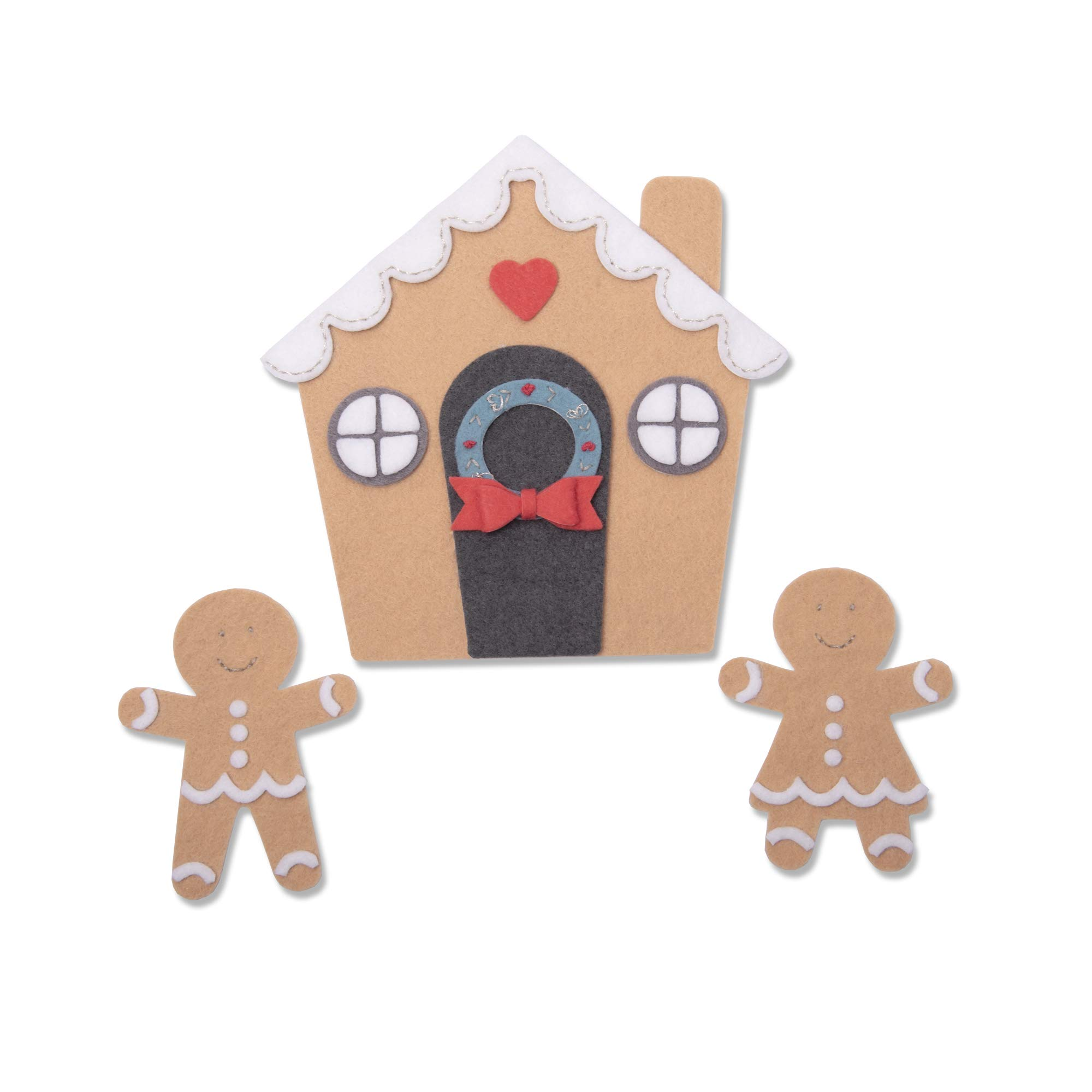 Sizzix 663325 Gingerbread House by Jennifer Ogborn Dies, us:one Size, Multicolor