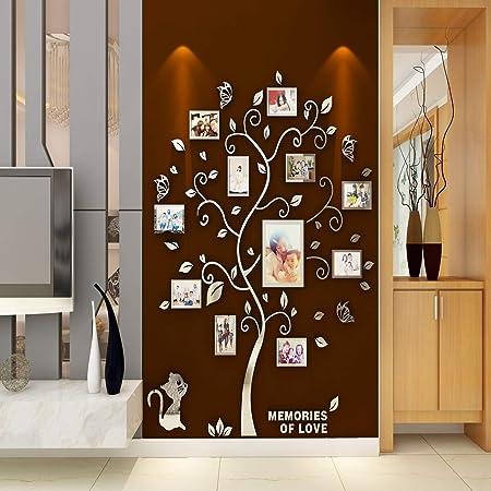 62 tipos 3D Puerta Pegatina Pared Calcomanía Nevera Auto Adhesivo Mural Paisaje Animales