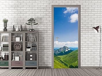 Grazdesign Klebefolie Tür Reisebüro Fototapete Tür Zimmertür
