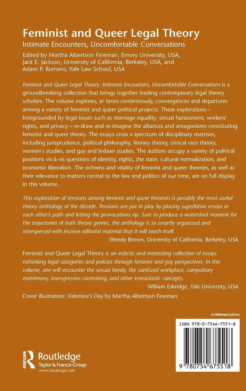29cd4708d ... Array - feminist and queer legal theory intimate encounters  uncomfortable rh amazon co uk
