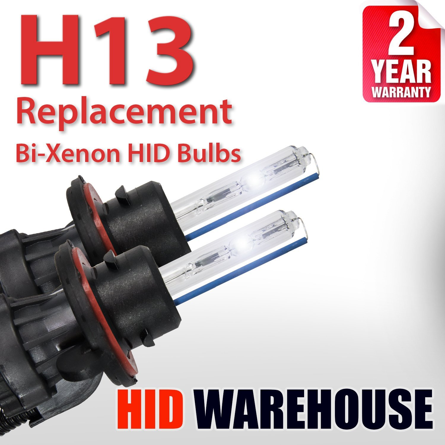 D2S // D2R // D2C - 2 Year Warranty 4300K Daylight HID-Warehouse HID Xenon Replacement Bulbs 1 Pair