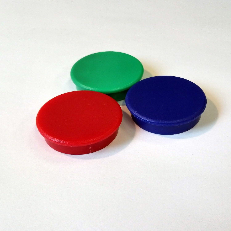 tagliabili I mag/_140 rossi I adesivi Barra magnetica a parete come superficie adesiva per magneti I 1 metro barra magnetica con 3 magneti rotondi