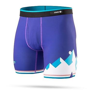 f646db2abd1e4 Stance M803D18JAZ Men's Jazz HWC Boxer Brief Underwear, Purple - S (3-5.5