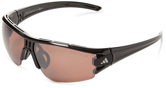 ad8c8635ab Amazon.com  adidas Evil Eye Halfrim Xs Rectangular Sunglasses Shiny ...
