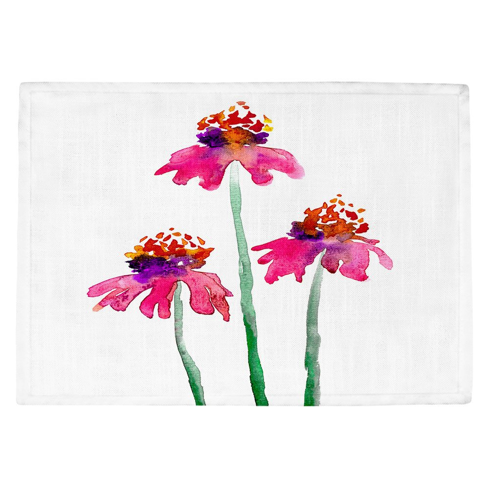 DIANOCHEキッチンPlaceマットby BrazenデザインStudio – エキナセア Set of 4 Placemats PM-BrazenDesignEchinacea2 Set of 4 Placemats  B01EXSGU2G