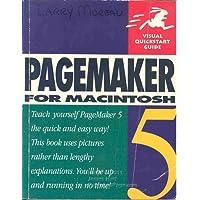 Pagemaker 5 for Macintosh (Visual QuickStart Guides)