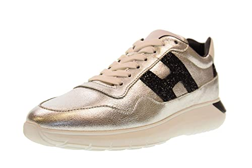 Hogan Scarpe Donna Sneakers Basse HXW3710AP20JI7303C H371 INTERACTIVE3   Amazon.it  Scarpe e borse 6af74119bbe