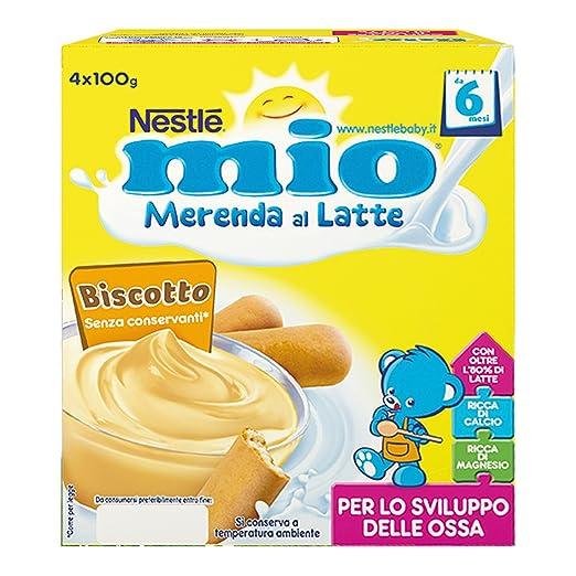 Amazon.com: Goûter Latte Biscotti Per Bambini Mio 100 G 4 Pezzi: Health & Personal Care