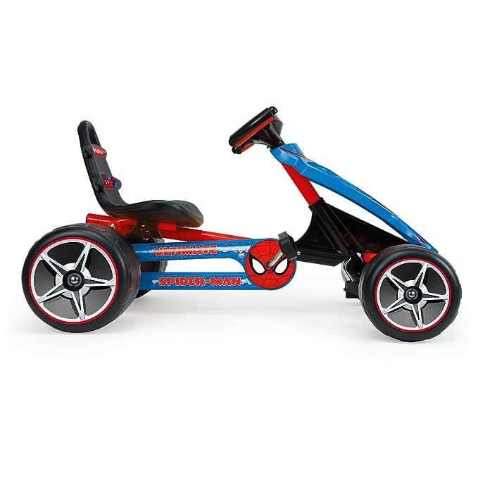 INJUSA 41260 The Ultimate Spiderman, Go Kart a Pedales, Color Azul: Amazon.es: Juguetes y juegos