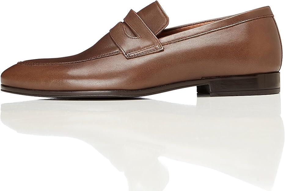 find. AMZ32/01 Mocasines Mens, Marrón (Brown), 47 EU (12 UK): Amazon.es: Zapatos y complementos