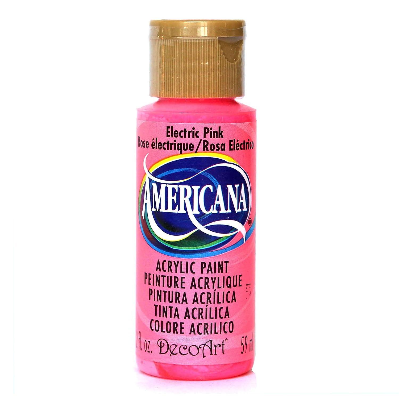 Deco Art Americana Acrylic Multi-Purpose Paint, Electric Pink DecoArt DA231-3