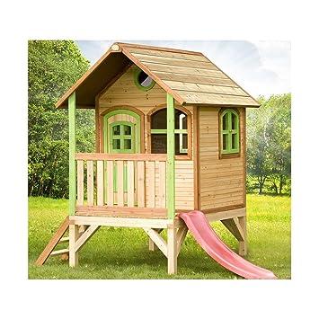 Axi - Casa de juegos de madera, modelo Tom, juegos de ...