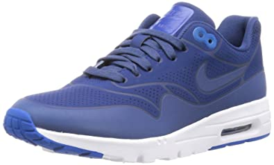 new style c1268 e9d97 Nike Air Max 1 Ultra Moire, Sneakers Basses Femme, Blau (coastal Blue