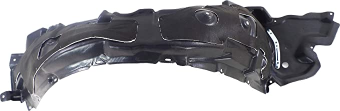 Front Fender Liner Compatible with Lexus IS250//IS350 2006-2008 LH with Insulation Foam and Extension Sheet