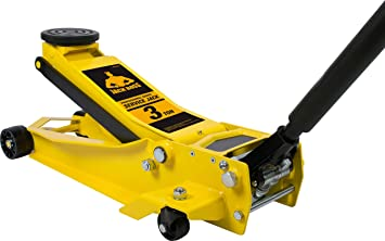 Amazon Com Torin Tam830008 Jackboss Hydraulic Low Profile Super Duty Service Floor Jack 3 Ton 6 000 Lb Capacity Yellow Automotive