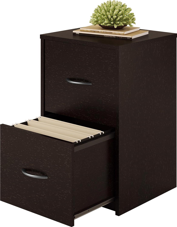 Amazon.com: Altra Core 2 Drawer File Cabinet, Espresso: Kitchen ...