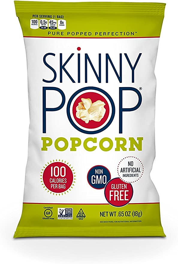 Amazon.com: SkinnyPop palomitas de maíz popped originales ...