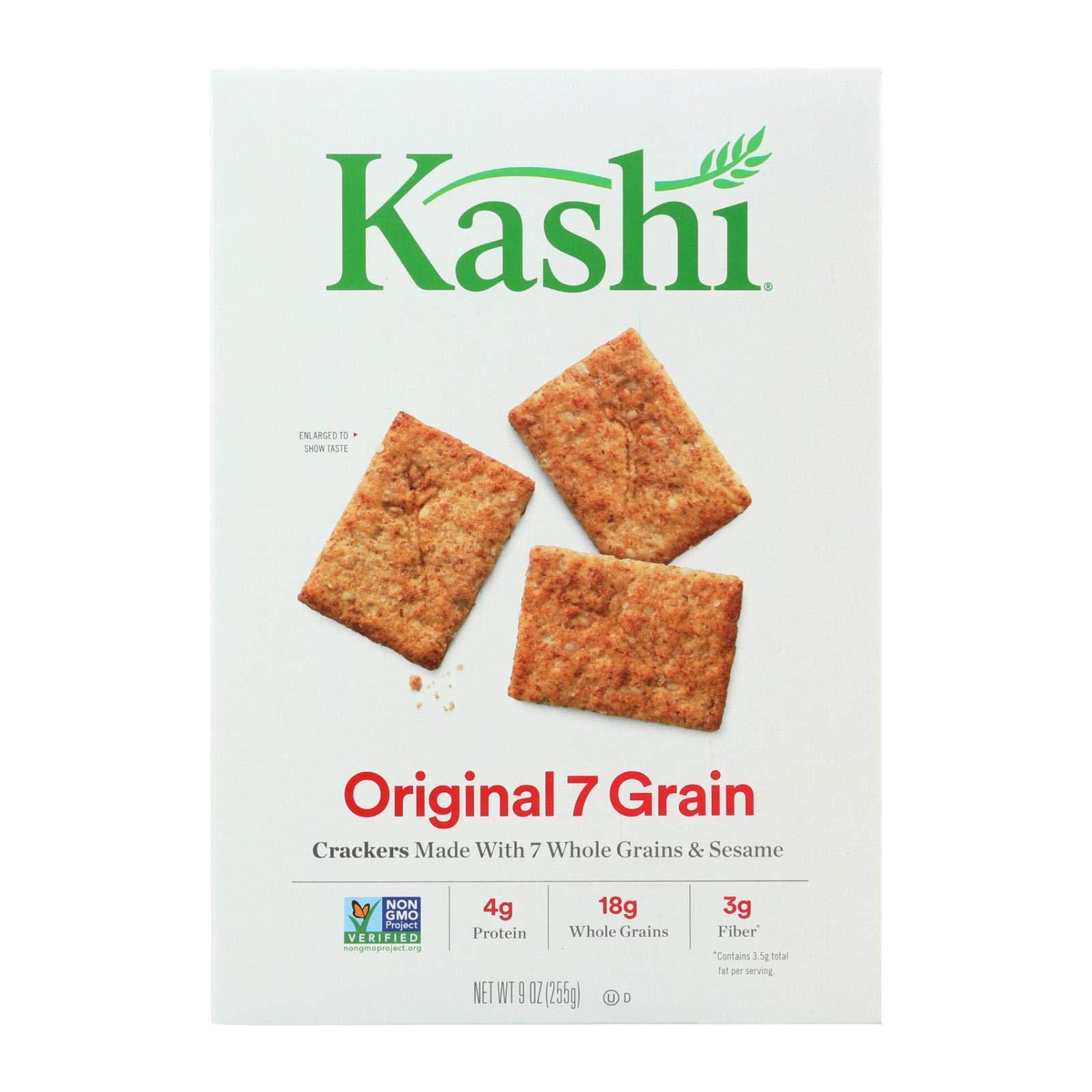 Kashi Crackers Original 7 Grain - Case of 12 - 9 oz.
