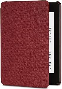 Capa de couro para Kindle Paperwhite (10ª Geração não compatível com as versões anteriores do Kindle Paperwhite) - Cor Vinho