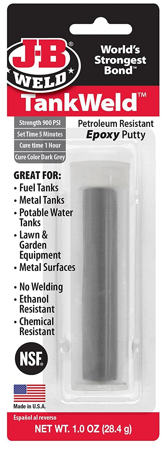 J-B Weld 8217 12 Pack 1 oz. AutoWeld Epoxy Putty Stick, Dark Grey