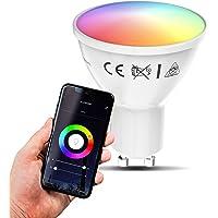 B.K.Licht I Smart lamp I smart light I LED WiFi lamp I GU10 lichtbron I RGB en CCT I voice control I bulb I slimme…