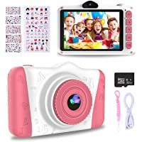 WOWGO Kids Digital Camera - 12MP Children's Selfie Camera with 3.5 Inches Large Screen for…