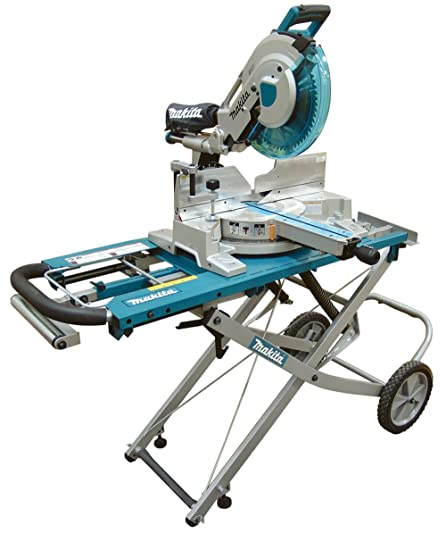 miter saw labeled. makita ls1216lx 12-inch dual slide compound miter saw with laser and stand labeled