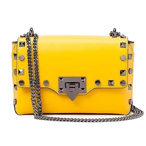 Borse e borsette da donna gialli in ecopelle | Acquisti