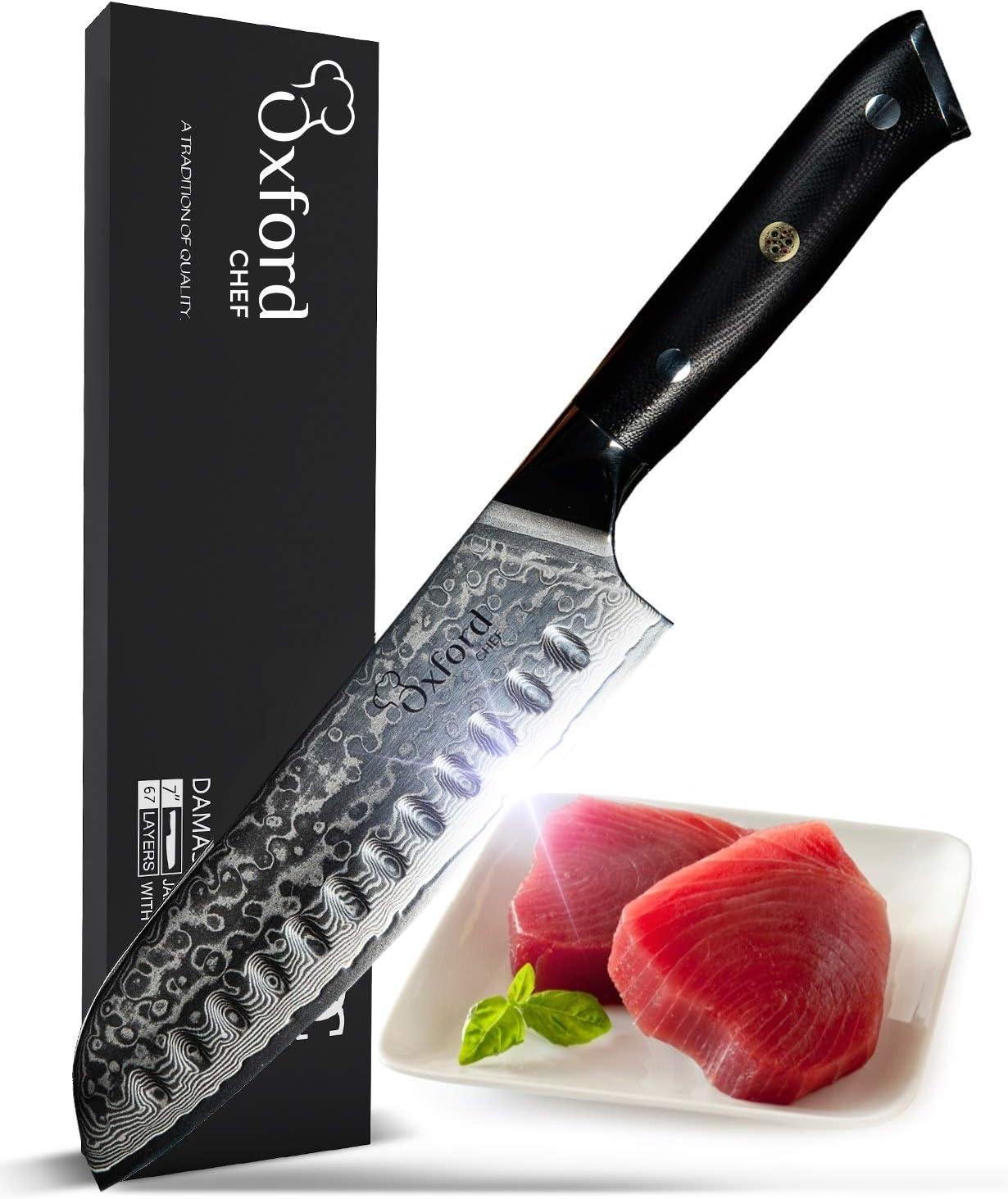 Santoku chef Knife 7 inch
