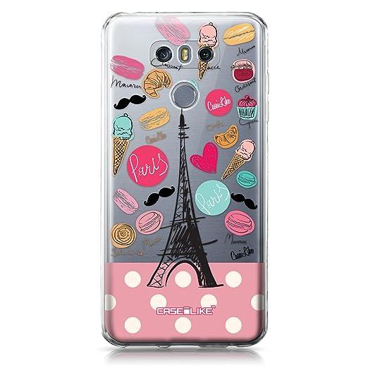 3 opinioni per CASEiLIKE Custodia LG G6 cover, Parigi vacanza 3904 Disegno Ultra Sottile