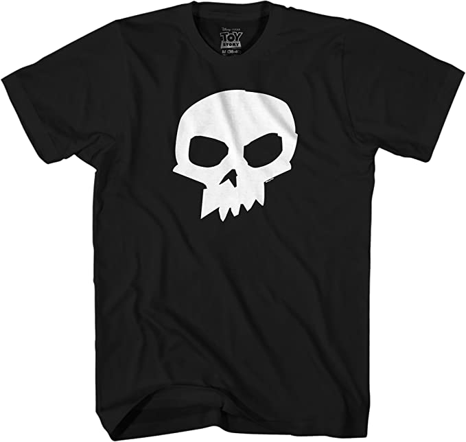 Amazon.com: Disney Pixar Toy Story Sid Skull T-Shirt: Clothing