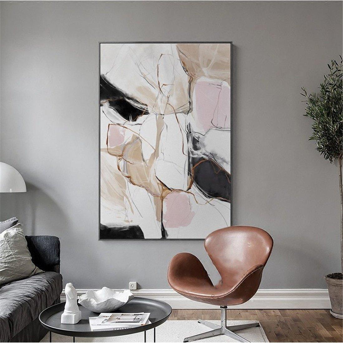 suministro directo de los fabricantes WUTONGNordic Sala de EEstrella Pintura Decorativa Moderna Minimalista Pintura Abstracta Abstracta Abstracta Dormitorio Restaurante murales Porche Colgante Pintura de la Parojo (43  63cm)  mejor vendido