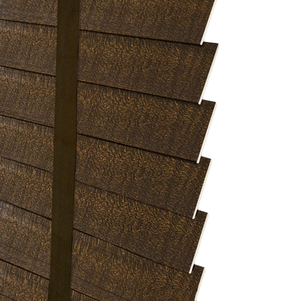 CAIJUN ウィンドウブラインド ローマのカーテン 無垢材 カスタムメイド 防水 リビングルーム 事務所 日焼け止め レトロ、 3色 (Color : B, Size : 90x200cm) B07TSY83HV B 90x200cm