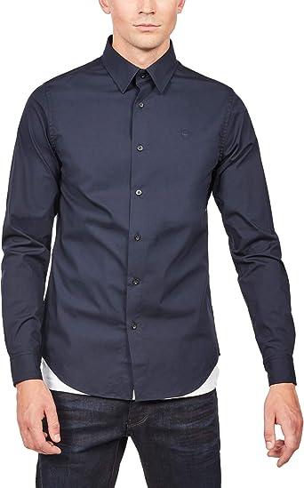 G-STAR RAW Core Shirt L/S Camisa para Hombre: Amazon.es: Ropa y accesorios