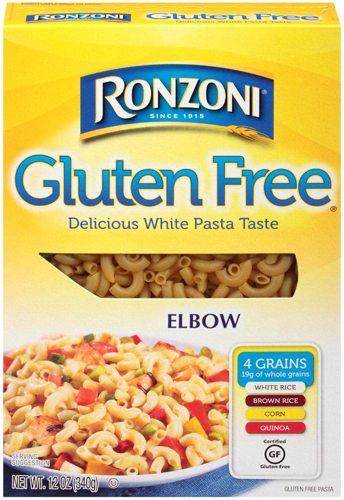 Ronzoni Gluten Free Elbow 12 oz (Pack of 12) by Ronzoni