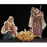 "48"" Fontanini Holy Family Lighted Nativity Christmas Yard Art"