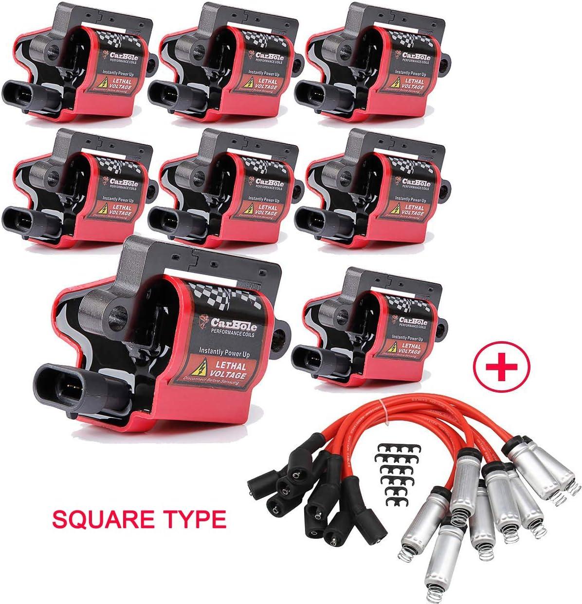 Ignition Coil Lead Wire-Coil Wire Standard 819DD
