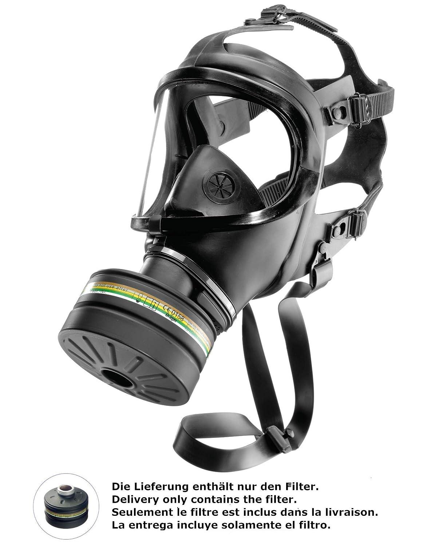 Dräger Filtro de protección Civil A2B2E2K2 P3 R D/NBC de Alta ...