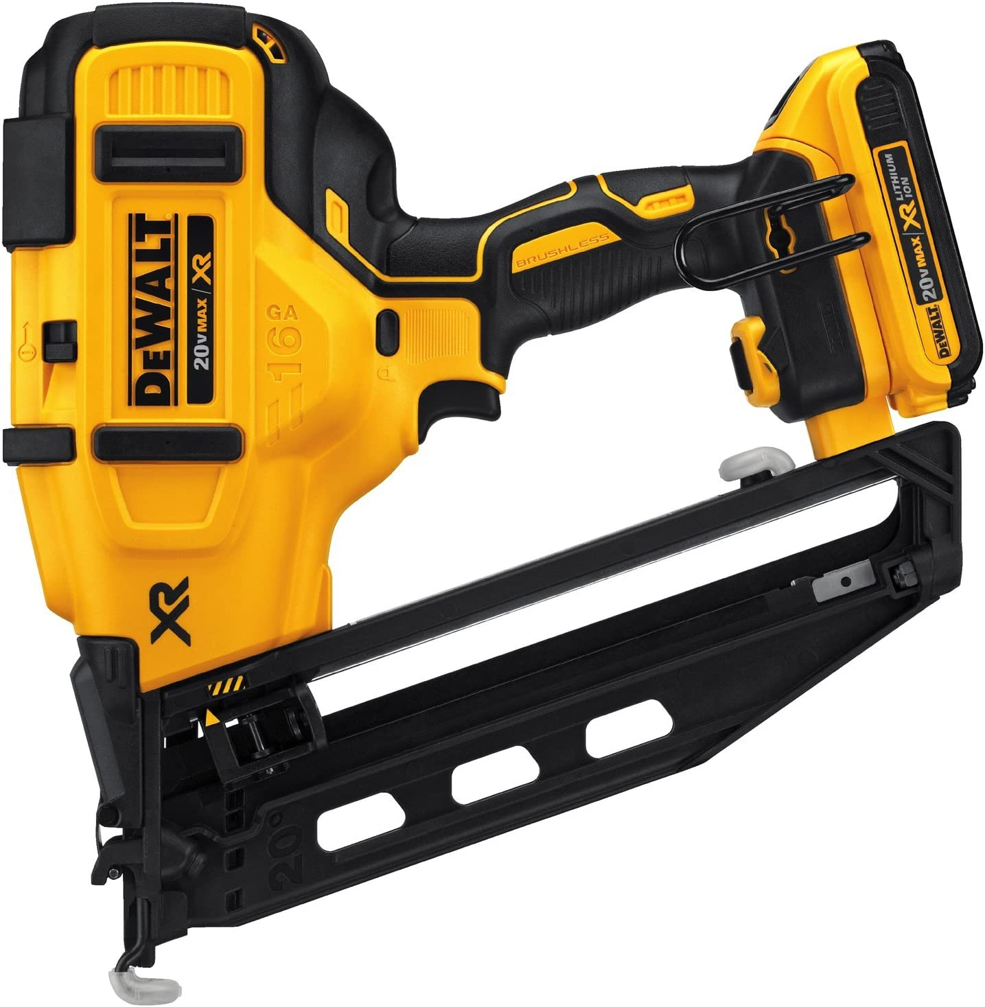 DEWALT Cordless Angled Finish Nailer