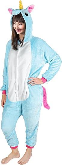 ISO TRADE Traje de Unicornio Mono Animal Pijama de una Pieza ...